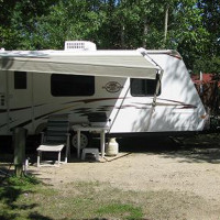 Our campground is perfect for your trailer.