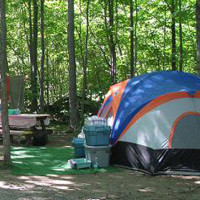 A great place to camp on the Bruce Peninsula.