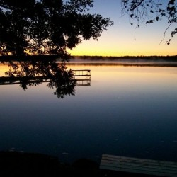 Enjoy a beautiful sunrise at Miller's Family Camp