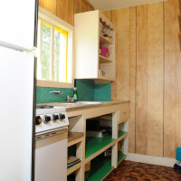 A basic kitchen is provided