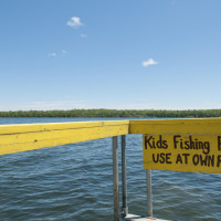 Children's fishing pier.