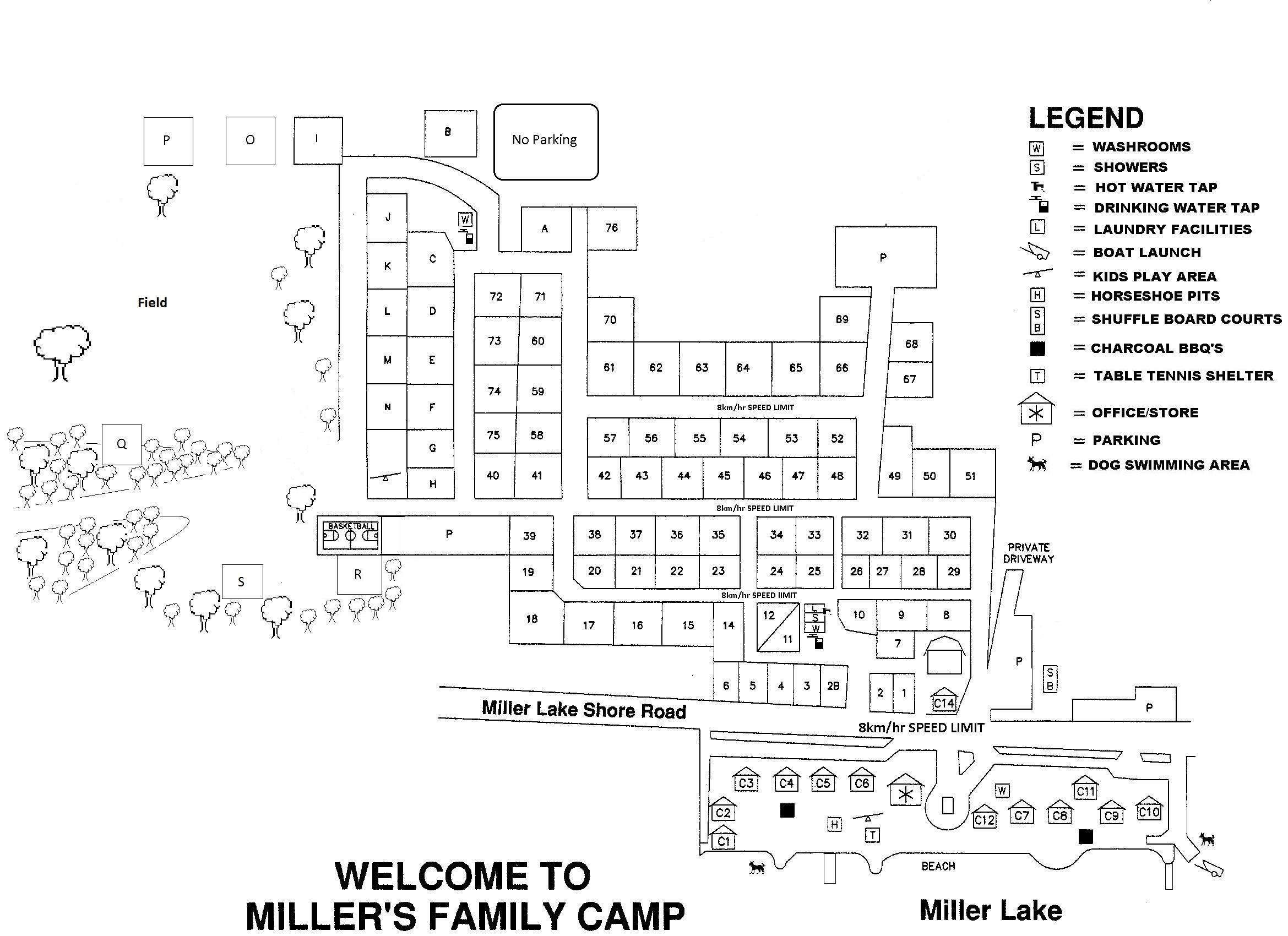 Enjoy quiet family camping at Miller's Family Camp - Miller's Family